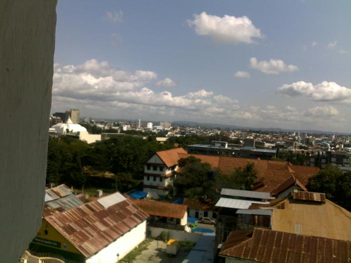 Looking Over Mombasa