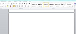 a white page