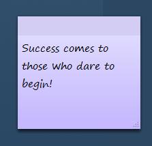 dare to begin