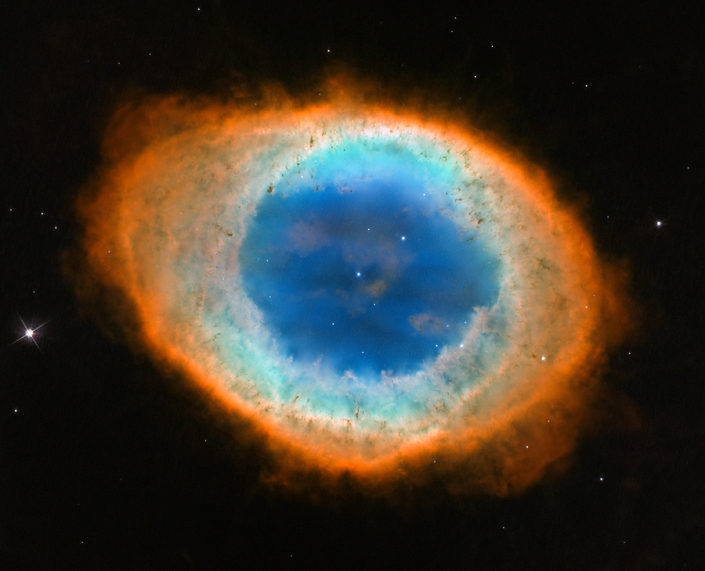 The Ring Nebula (http://apod.nasa.gov/apod/ap130605.html)