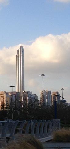 Part of Abu Dhabi's skyline